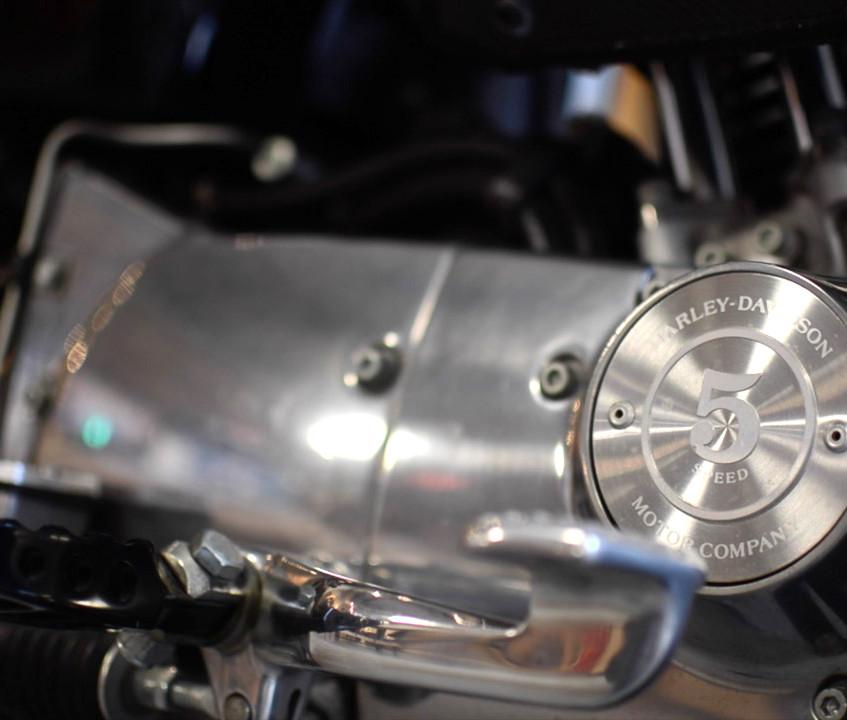 Harley Davidson XL1200 Custom Motorcycle