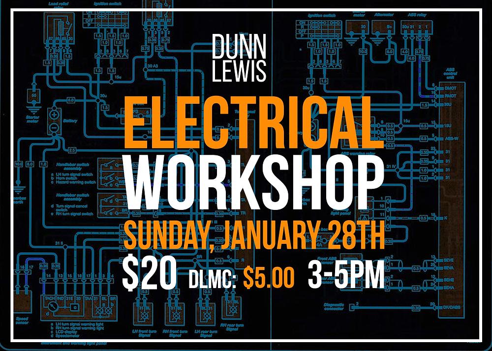 DUNN LEWIS Motorcycle Workshop, Electrical Systems,  DIY Motorcycle Garage