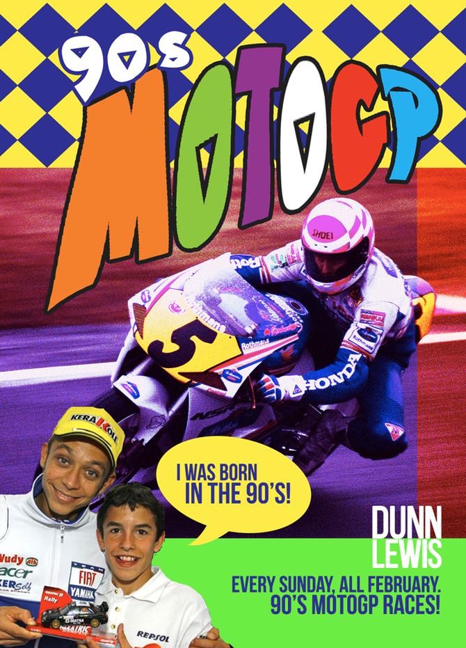 Classic MotoGP Sundays!