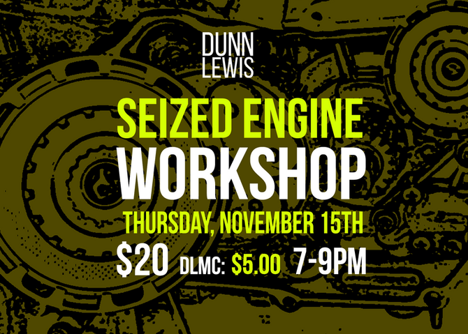 Seized Engine Workshop