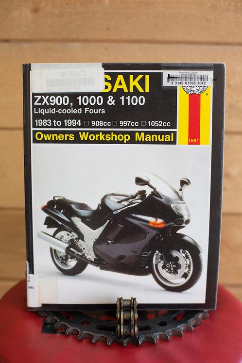 Haynes :Kawasaki ZX900, 1000 & 1100