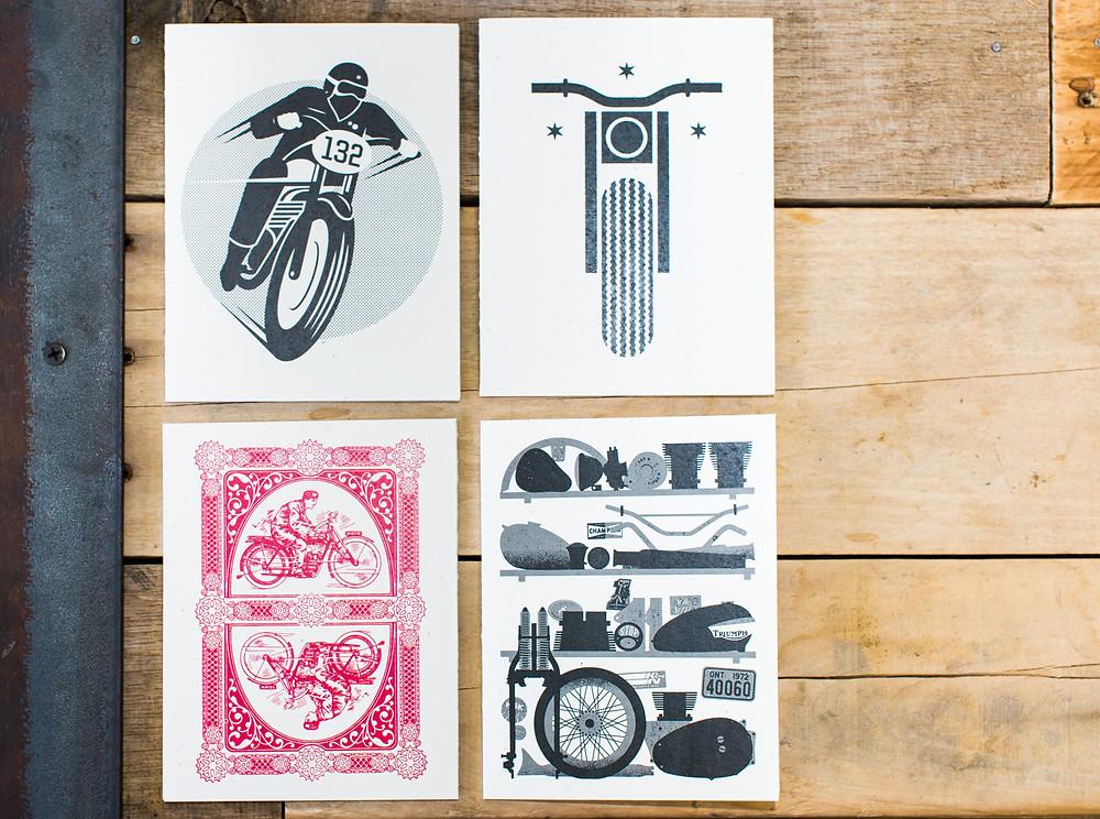 Town Moto, Washington DC, DUNN LEWIS, Motorcycle, Lifestyle, Art