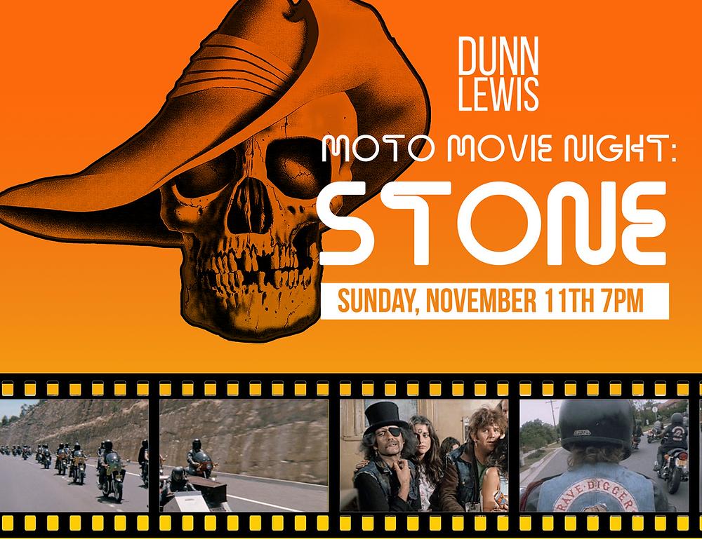 Washington DC, DUNN LEWIS, Motorcycle Shop, Event, Movie Night, Film, Motorcycle