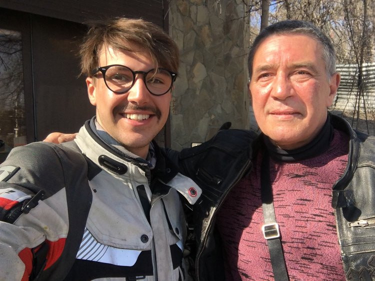 Henry Crew, Around the World, Motorcycle, Adventure, Ducati, Scrambler, Desert Sled