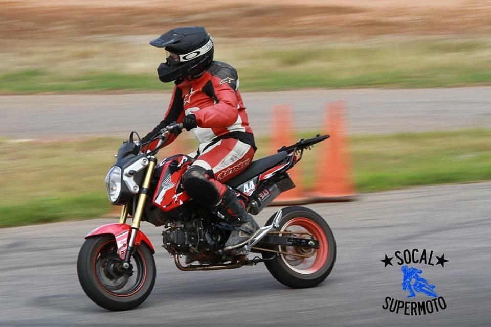 Honda Grom, Supermoto Training, Supermoto