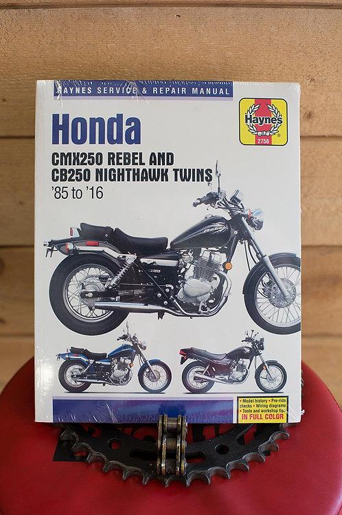 Haynes : Honda CMX250 and CB250 Twins '85 to '16