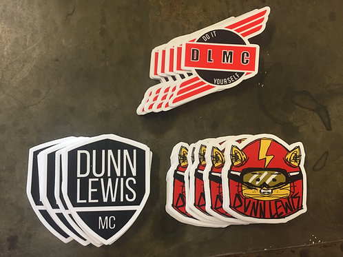 DUNN LEWIS Stickers