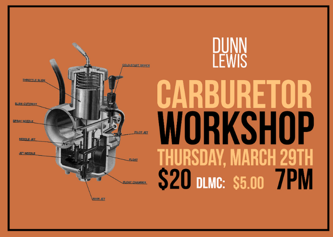 Carburetor Workshop w/Clay