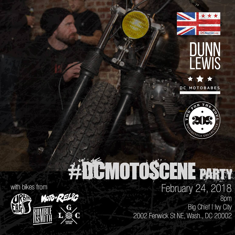 Custom Motorcycle, IMS, International Motorcycle Show, Washington DC Party