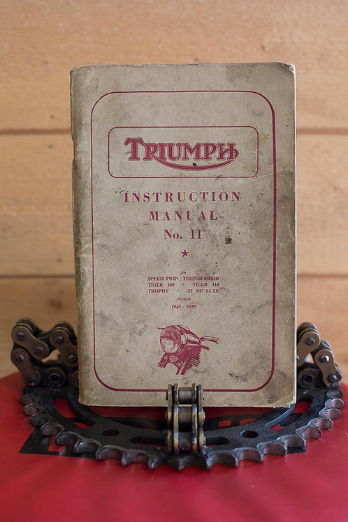 Triumph Instruction Manual No. 11