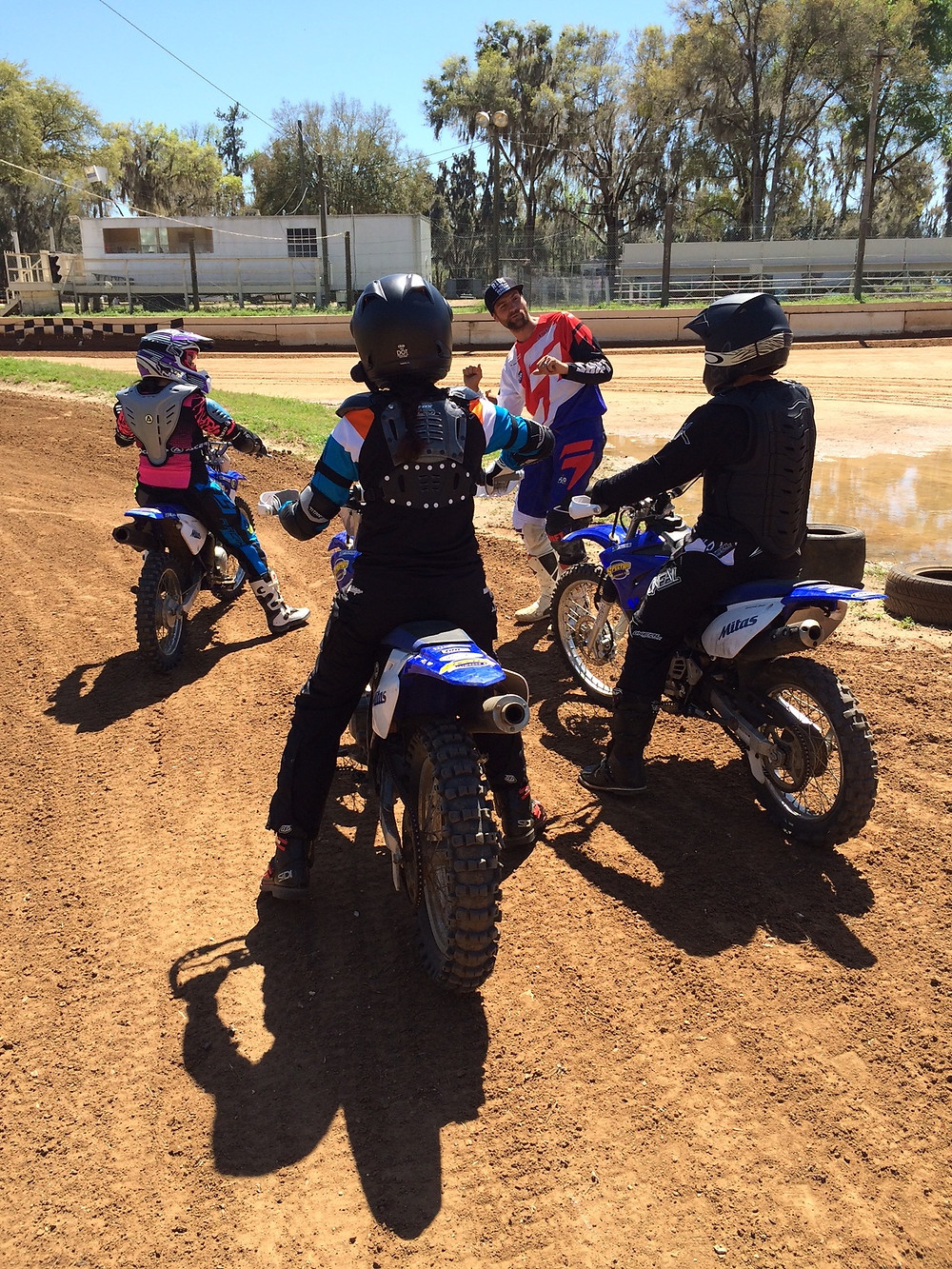 dirtbikes, motorcycles, Flat track, motorcycle training