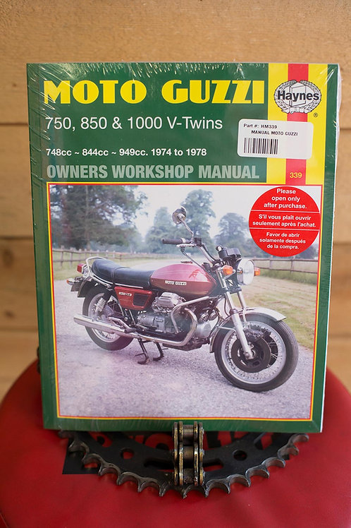 Haynes : Moto Guzzi 750, 850 & 1000 V-Twins