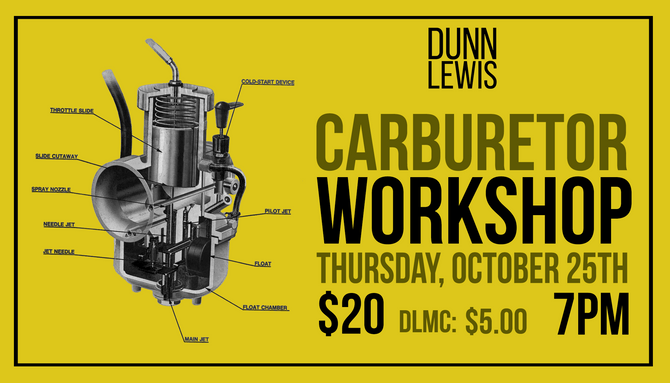 Carburetor Workshop w/ Tyler
