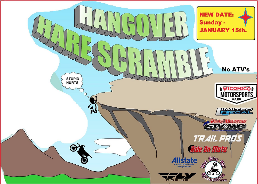 hangover hare Scramble, Dirt bikes, Washington DC, Motorcycle