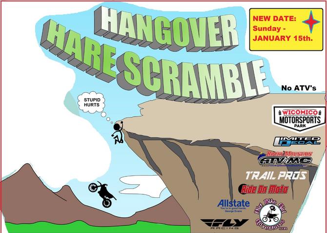 Hangover Hare Scramble 2017 UPDATE