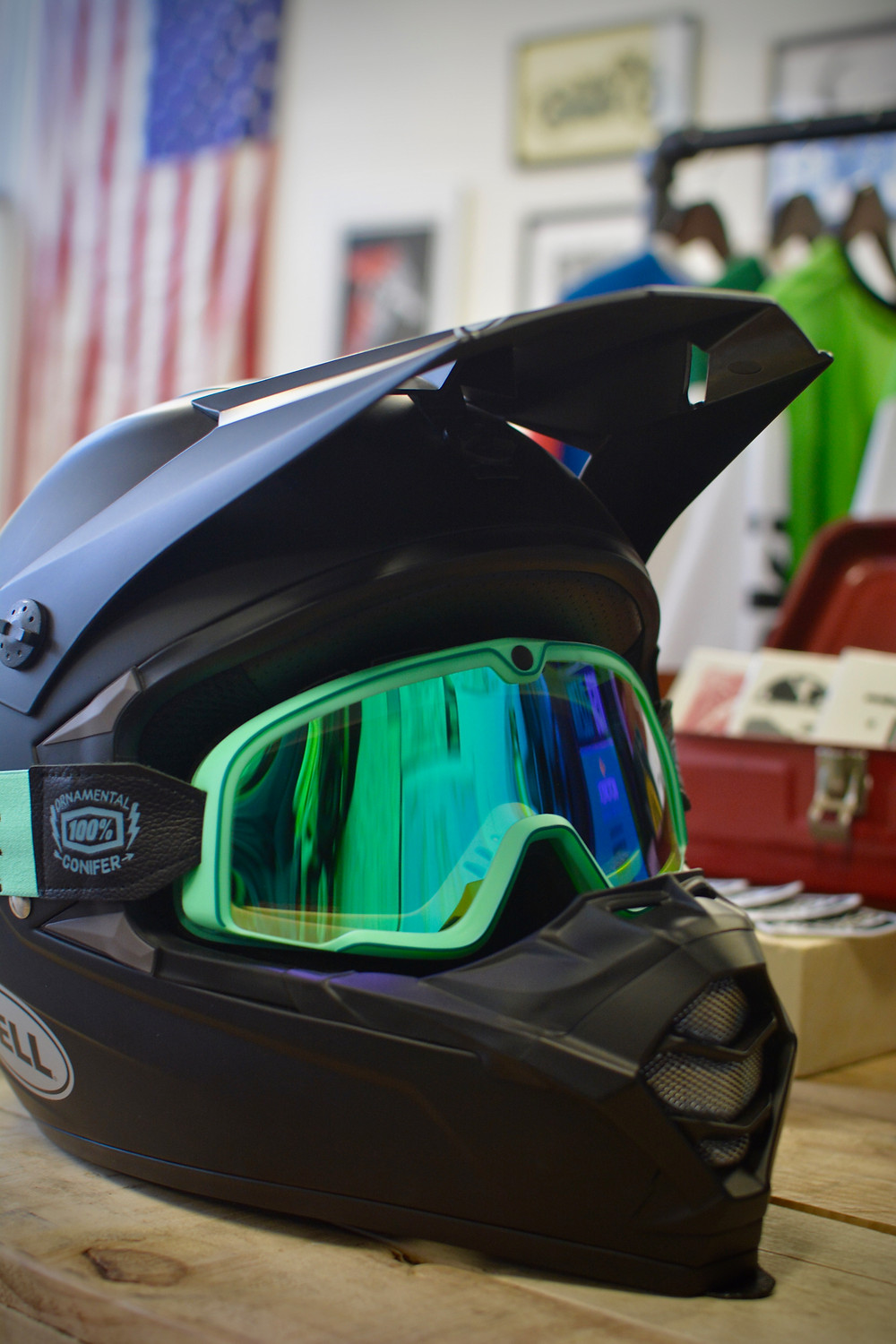 Ride 100% Barstow Motorcycles Goggles