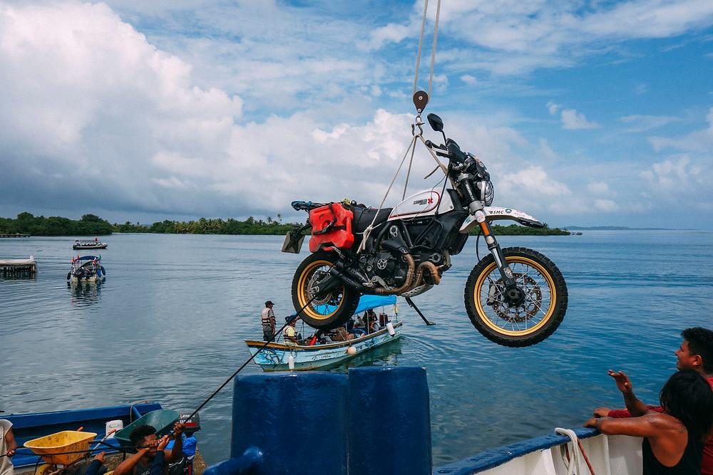 Henry Crew, Around the World, Motorcycle, Adventure, Ducati, Scrambler, Desert Sled, DUNN LEWIS, Motorcycles, Washington DC, Event, Ride Report,