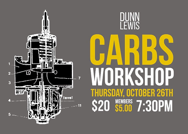 Workshop : CARBURETORS