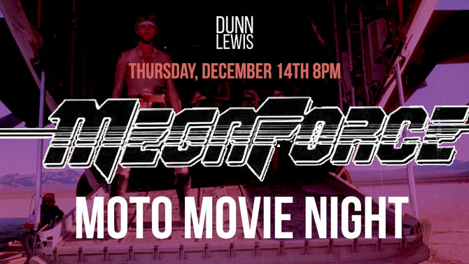 Moto Movie Night : MEGAFORCE