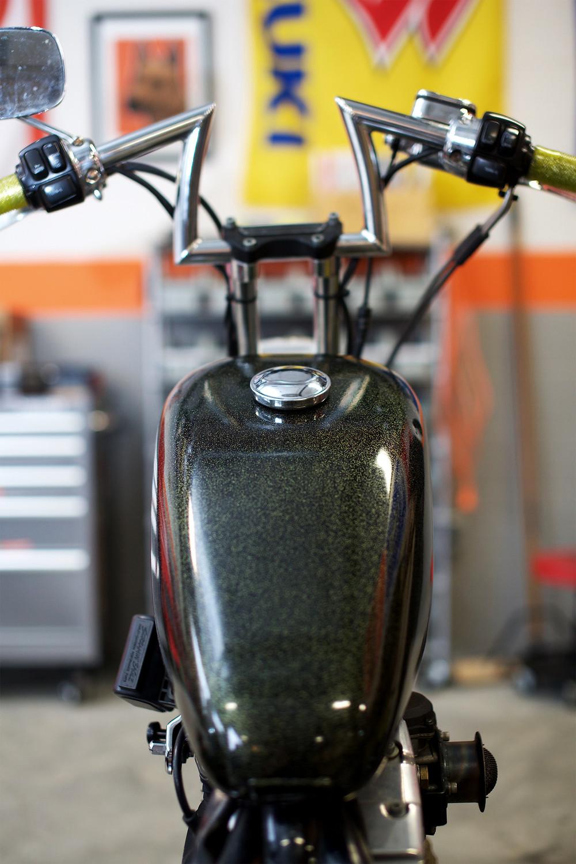 Harley Davidson, 1200 Sportster, Motorcycle, Washington DC, DIY Garage, DUNN LEWIS
