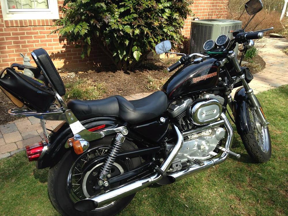 Harley Davidson XL1200 Sportster Motorcycle