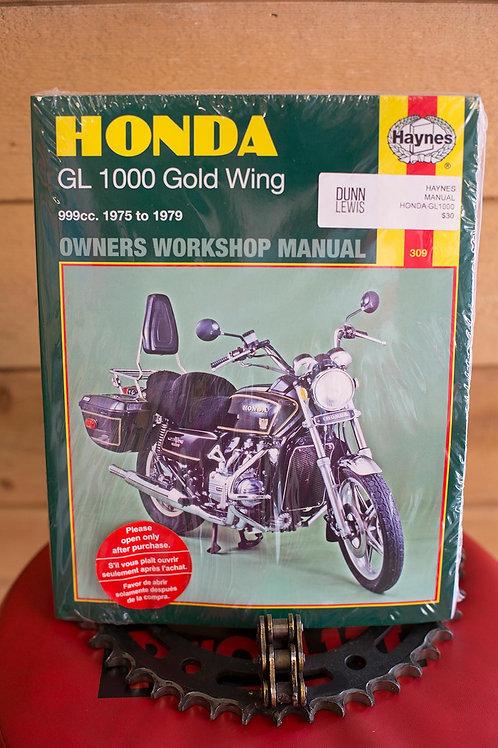 Haynes : Honda GL 1000 1976 to 1979