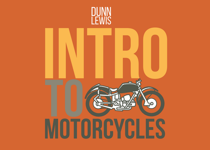 Intro to Motorcycles!
