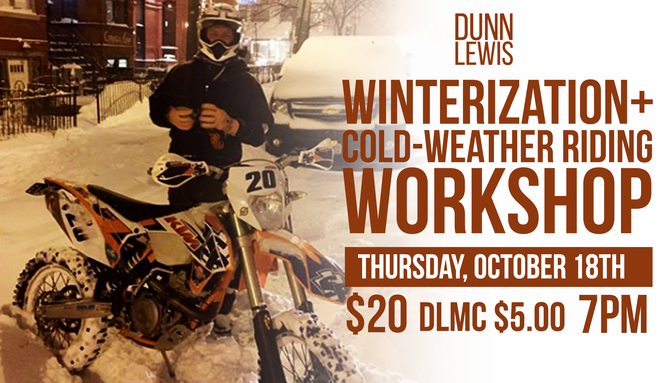 Winterization + Cold Weather Riding