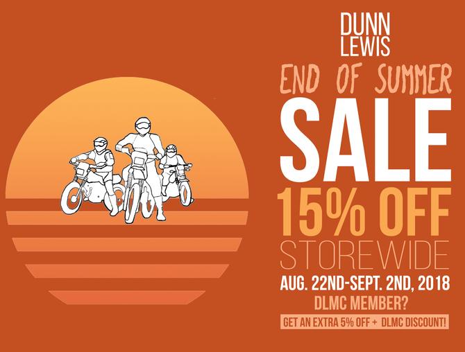 End of Summer Sale!