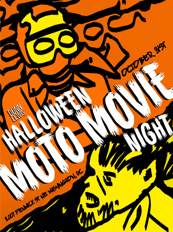 Halloween MOTO MOVIE Night