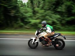 KTM 690 DUKE Custom Motorcycle DC