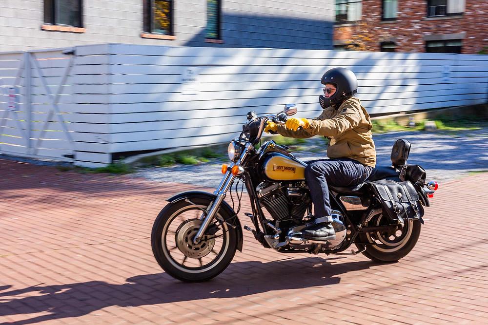 Harley Davidson FXRP Super glide DIY Motorcycle Shop Washington DC