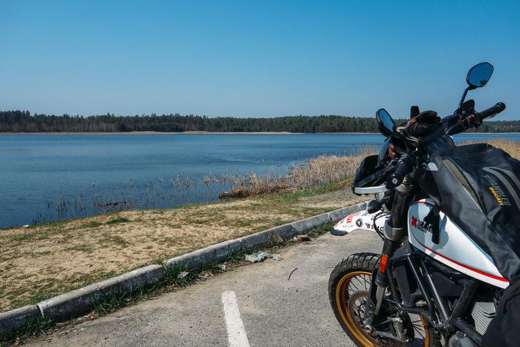 Ducati Scrambler, Desert Sled, Henry Crew, Russia