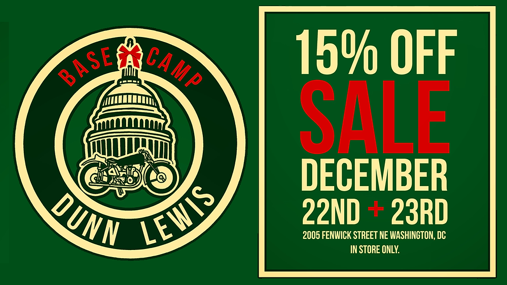 DUNN LEWIS, Motorcycle Store, Motorcycle Gear Sale, Washington DC