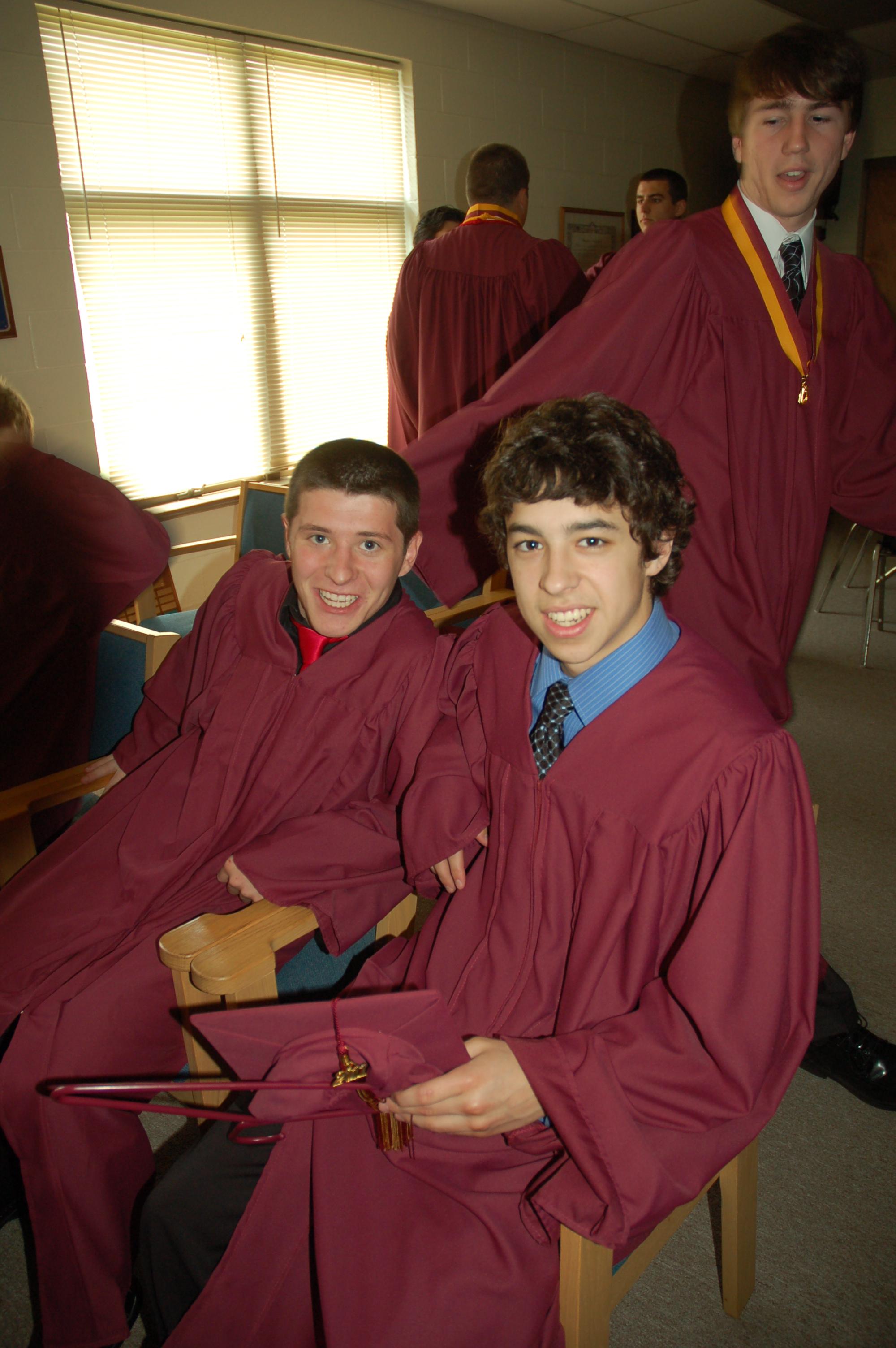 John Gaudreau at GC Graduation 2011