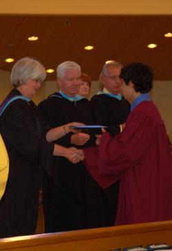 John receives GC diploma 2011