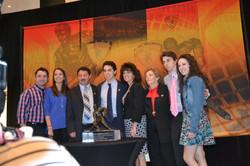Gaudreau Family @ Hobey Baker Awards