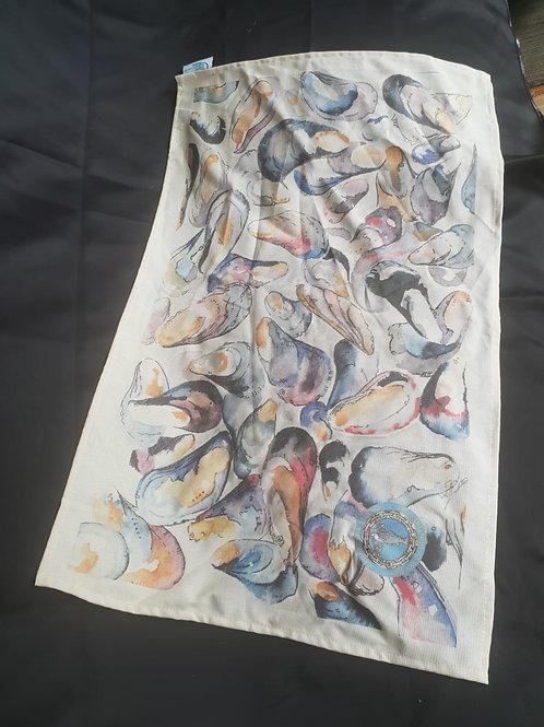 Mussels Tea Towel