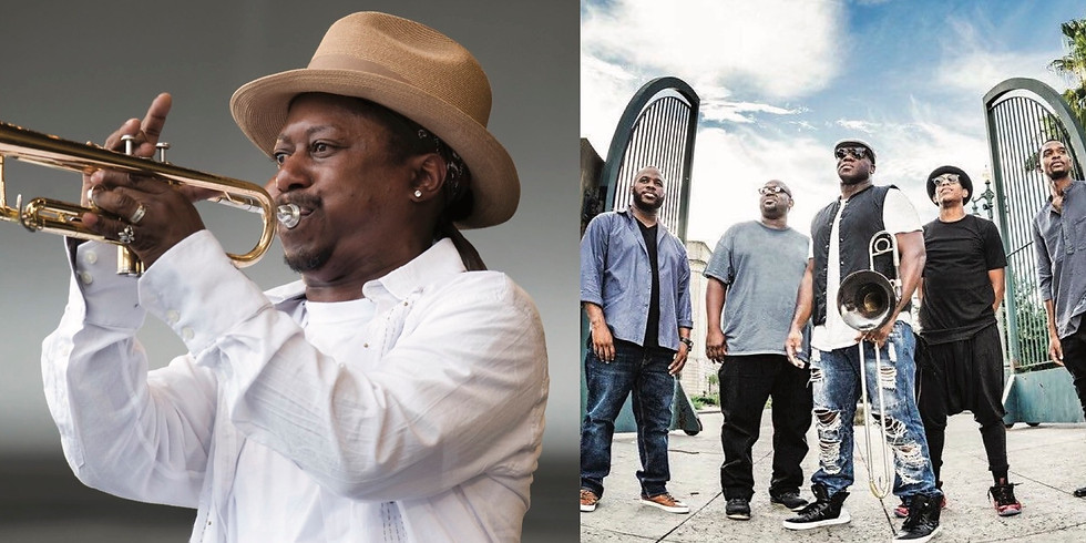 Kermit Ruffins & the BBQ Swingers plus Big Sam Funky Nation   12-14-19