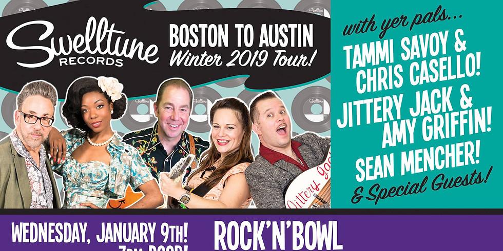 Swelltune Record Boston to Austin Tour   1-9-19