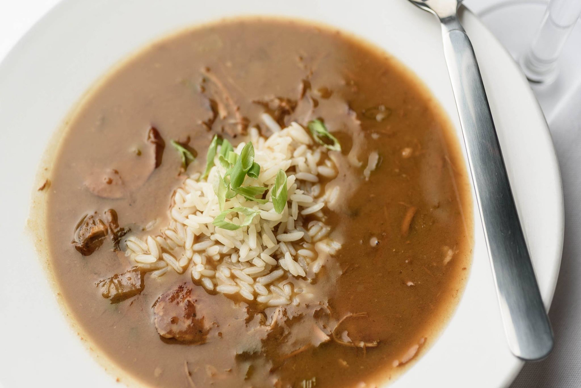 Chicken & Andouille Gumbo