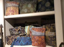 Woven fabric bags