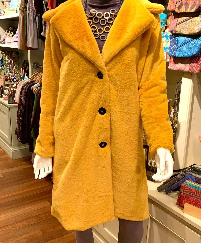 teddybear skin coat