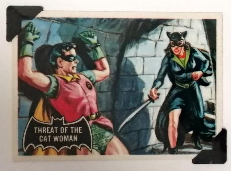 Catwoman and Robin Batman Greetings Card