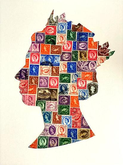 Wilding Stamp Meta Queen - Elizabeth II