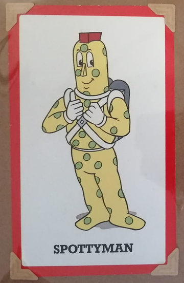 Spottyman Superted Greetings Card