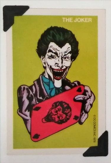The Joker Batman Greetings Card