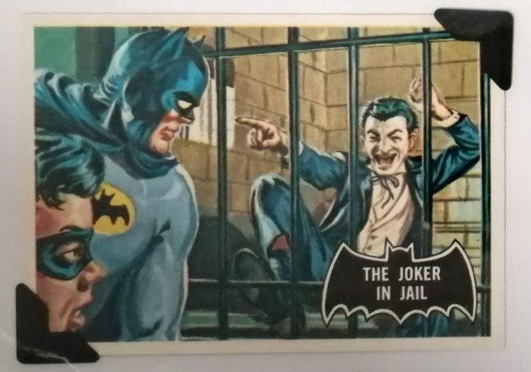The Joker In Jail Batman Greetings Card