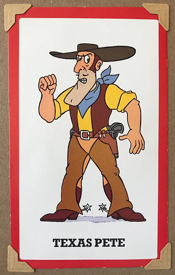 Texas Pete Superted Greetings Card