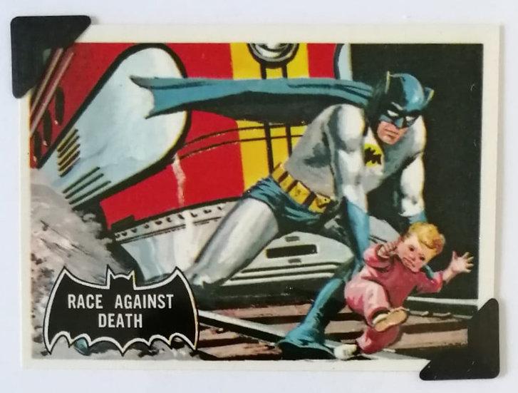 Train and Batman Greetings Card